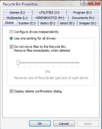Cara menghapus folder Recycler dan System volume information dengan notepat